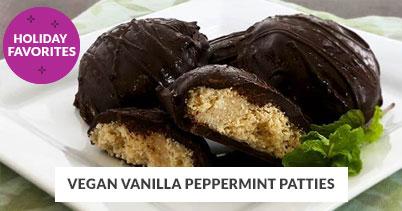 Holiday Recipe Favorites: Vegan Vanilla Peppermint Patties