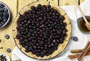 Vegan Blueberry Pie