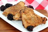 Vegan Blackberry Scones