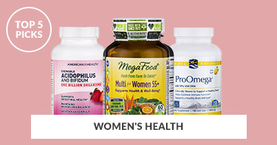 Top 5 Picks - Women's Health