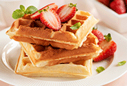 Morning Protein Waffles