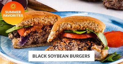 Summer Recipe Favorites: Black Soybean Burger