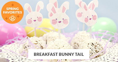 Spring Recipe Favorites: Breakfast Bunny Tail