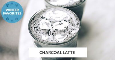 Winter Recipe Favorites: Charcoal Latte
