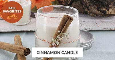 Fall Recipe Favorites: Cinnamon Candle