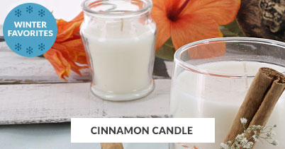 Winter Recipe Favorites: Cinnamon Candle