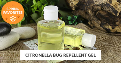 Spring Recipe Favorites: Citronella Bug Repellent Gel
