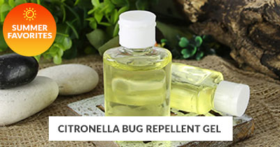 Summer Recipe Favorites: Citronella Bug Repellent Gel