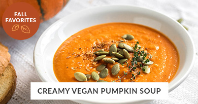 Fall Recipe Favorites: Vegan Pumpkin Soup