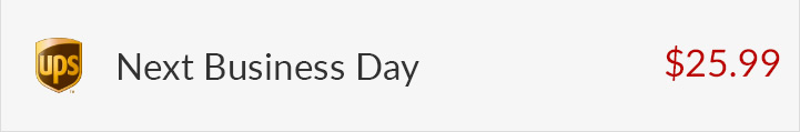 UPS Next Day - $25.99
