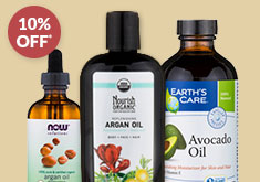 BUY 3 & SAVE 10% SELECT on CARRIER & BEAUTY OILS