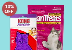 BUY 3 & SAVE 10% SELECT on CAT PRODUCTS