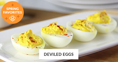Spring Recipe Favorites: Deviled Eggs