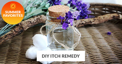 Summer Recipe Favorites: DIY Itch Remedy