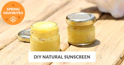 Spring Recipe Favorites: DIY Natural Sunscreen