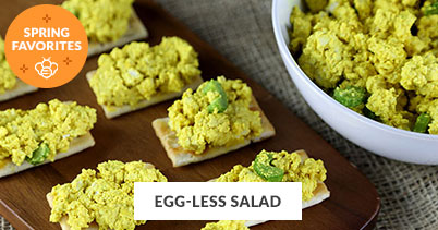 Spring Recipe Favorites: Egg-Less Salad