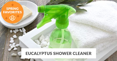 Spring Recipe Favorites: Eucalyptus Shower Cleaner