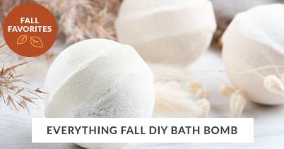 Fall Recipe Favorites: Everything Fall DIY Bath Bomb