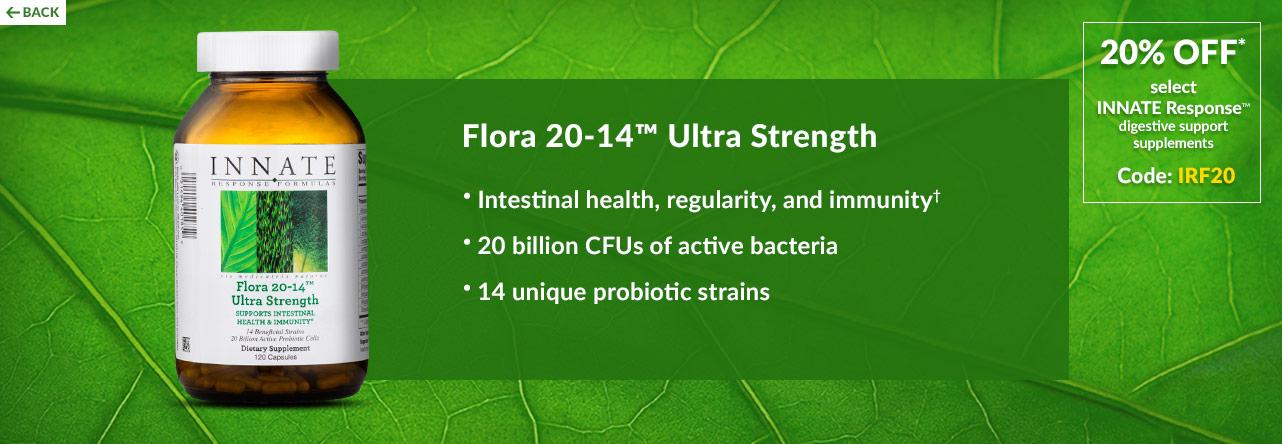 Flora 20-14 Ultra Strength