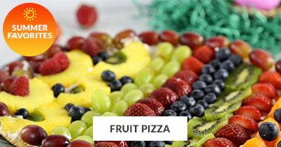 Summer Recipe Favorites: Fruit Pizza