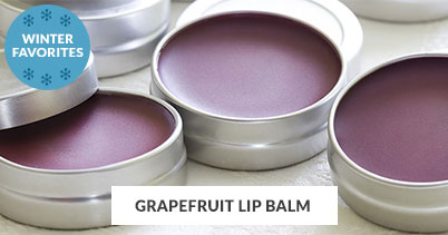 Winter Recipe Favorites: Grapefruit Lip Balm
