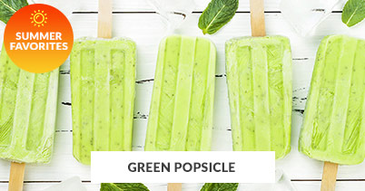 Summer Recipe Favorites: Green Popsicle