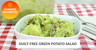 Summer Recipe Favorites: Guilt-Free Green Potatao Salad
