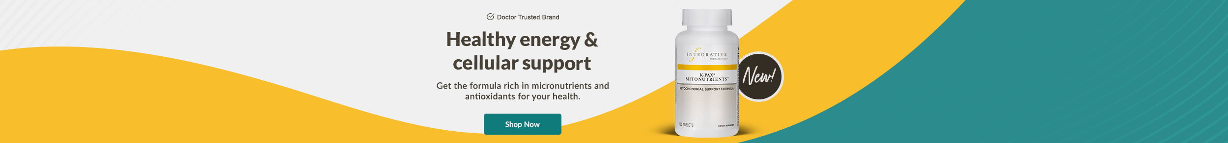 Doctor Trusted Brand: K-Pax Mitonutrients by Integrative Therapeutics - Healthy energy & cellular support - Get the formula rich in micronutrients and antioxidants for your health. SHOP NOW!