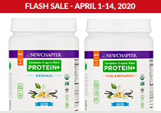 New Chapter - Protein Flash Sale