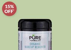 PureFormulas' Organic Makeup Remover