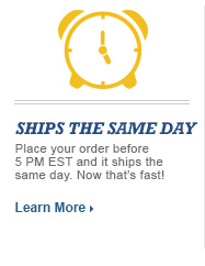 Ships the same day