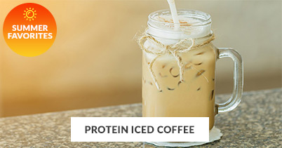Summer Recipe Favorites: Protein Iced Coffee