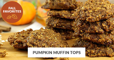 Fall Recipe Favorites: Pumpkin Muffin Tops