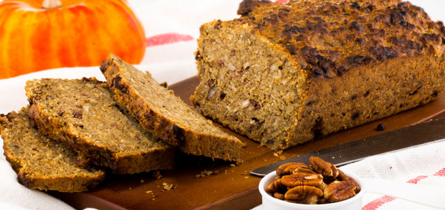 Pumpkin Spice Energy Bread