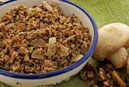 MUSHROOM AND WALNUT MEAT