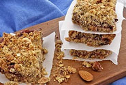 Jam And Oats Bars