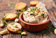 Creamy Garlic Cashew Cheese