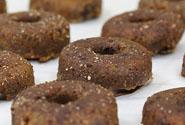 Chocolate Glazed Protein Doughnuts