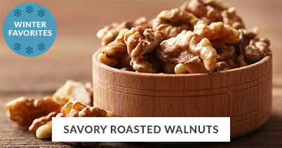 Winter Recipe Favorites: Savory Roasted Walnuts