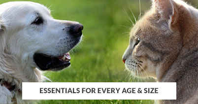 Shop By Size - Essentials For Every Pet Age & Size