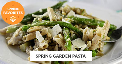 Spring Recipe Favorites: Spring Garden Pasta