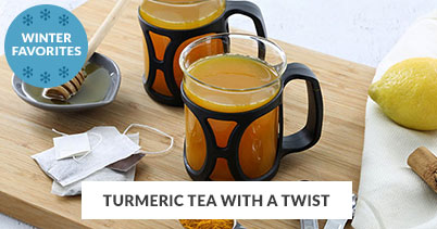 Winter Recipe Favorites: Turmeric Tea With A Twist