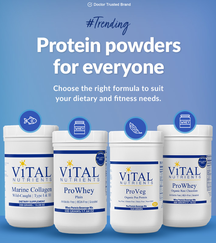 Protein Powders for everyone